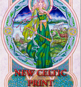 NEW Celtic Irish Fantasy Prints