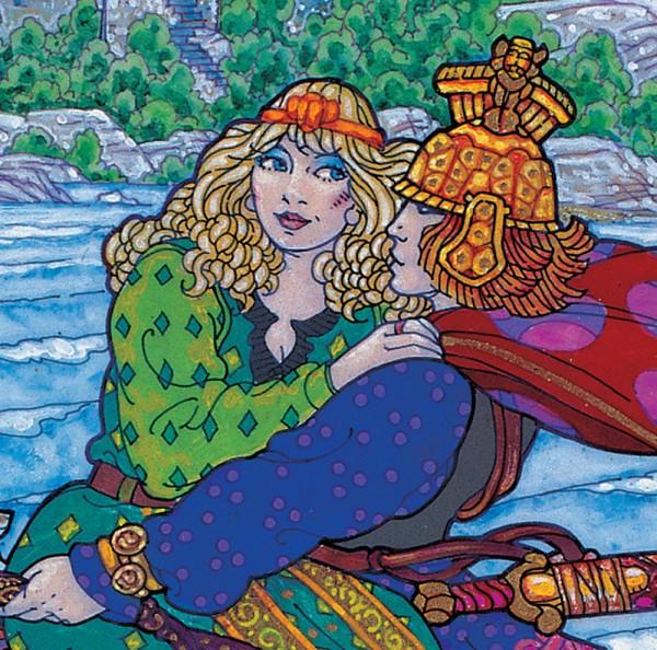 OISÍN AND NIAMH detail 3