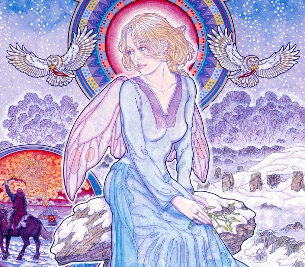 SNOW FAERIE detail 1