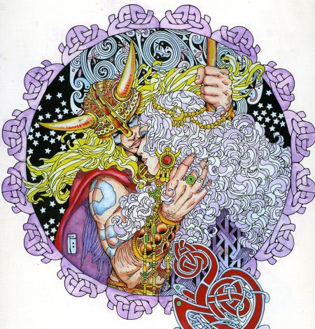 hand-coloured print Detail 1