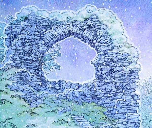 dun guaire castle detail 4