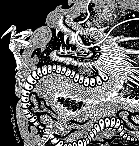 CHINATOWN.POSTER.Dragon A2 Detail 3