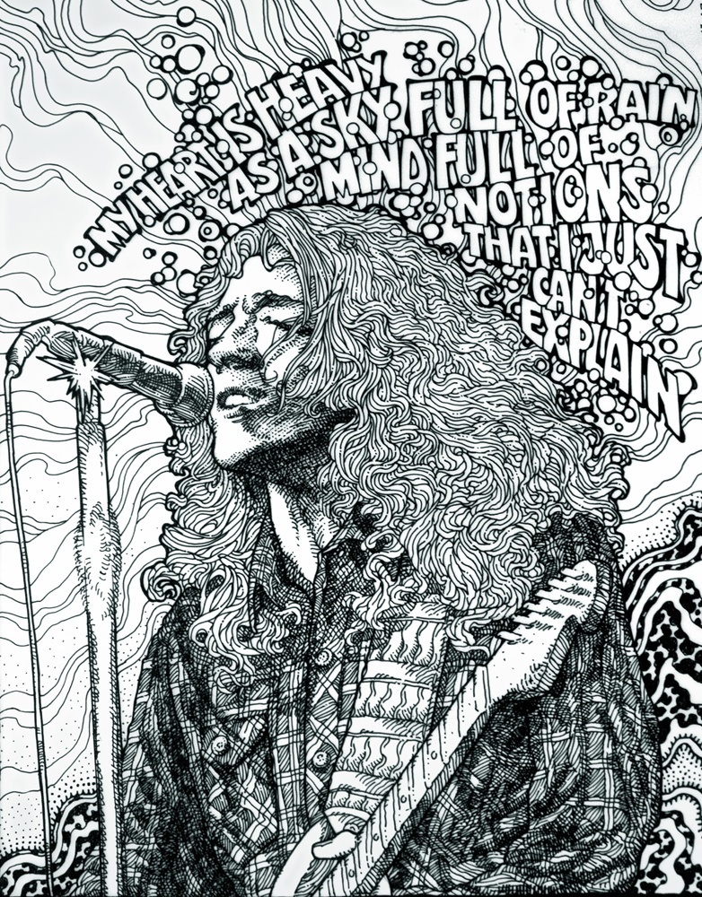 RORY GALLAGHER.A2 Detail 1