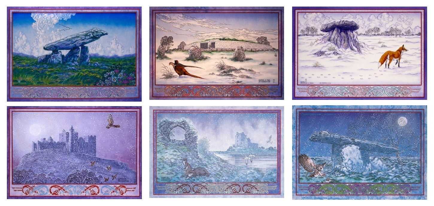 Irish landscape prints, Celtic irish, Irish , Ireland, Irish landscape, Jim fitzpatrick