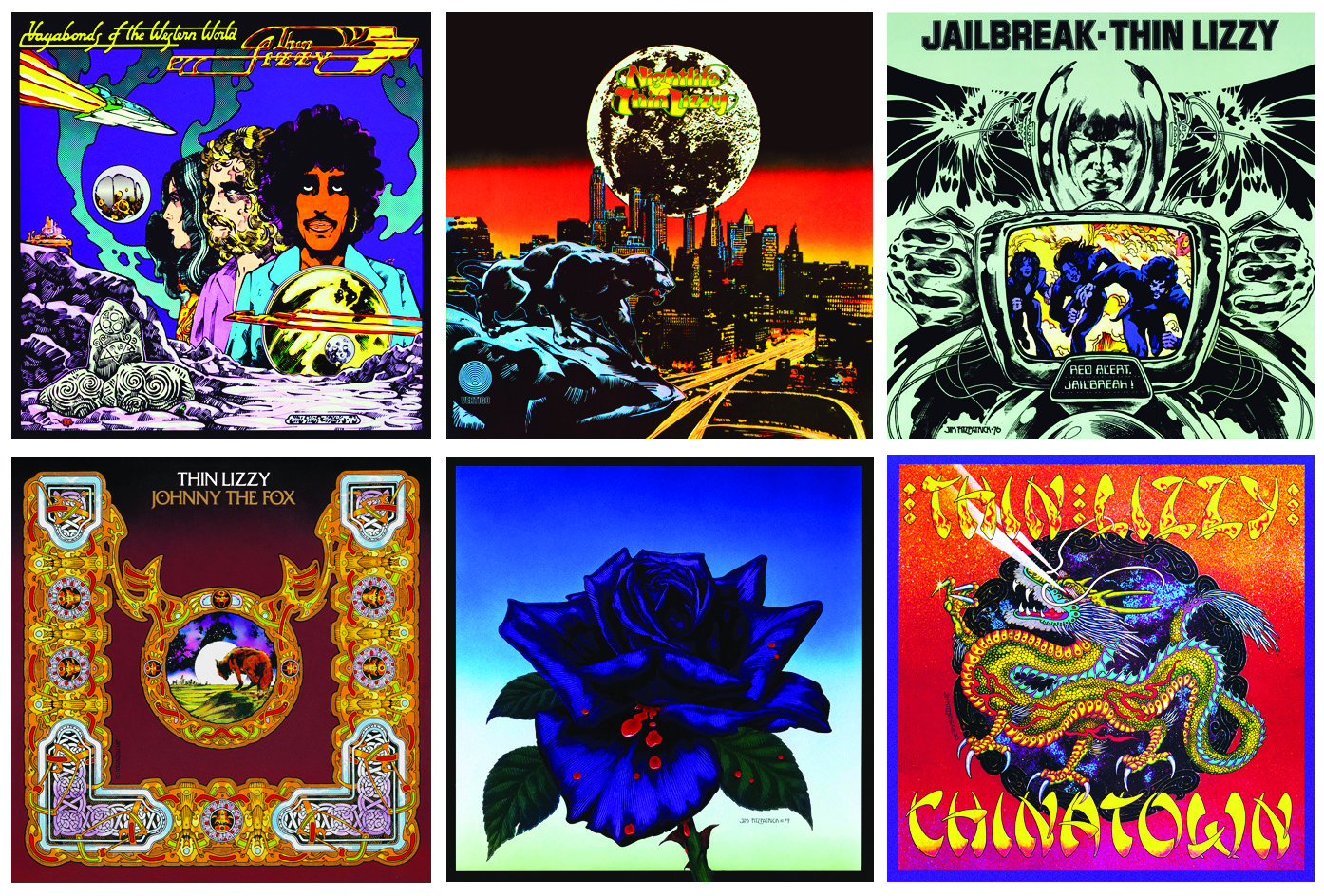 Thin Lizzy, Thin Lizzy album cover,