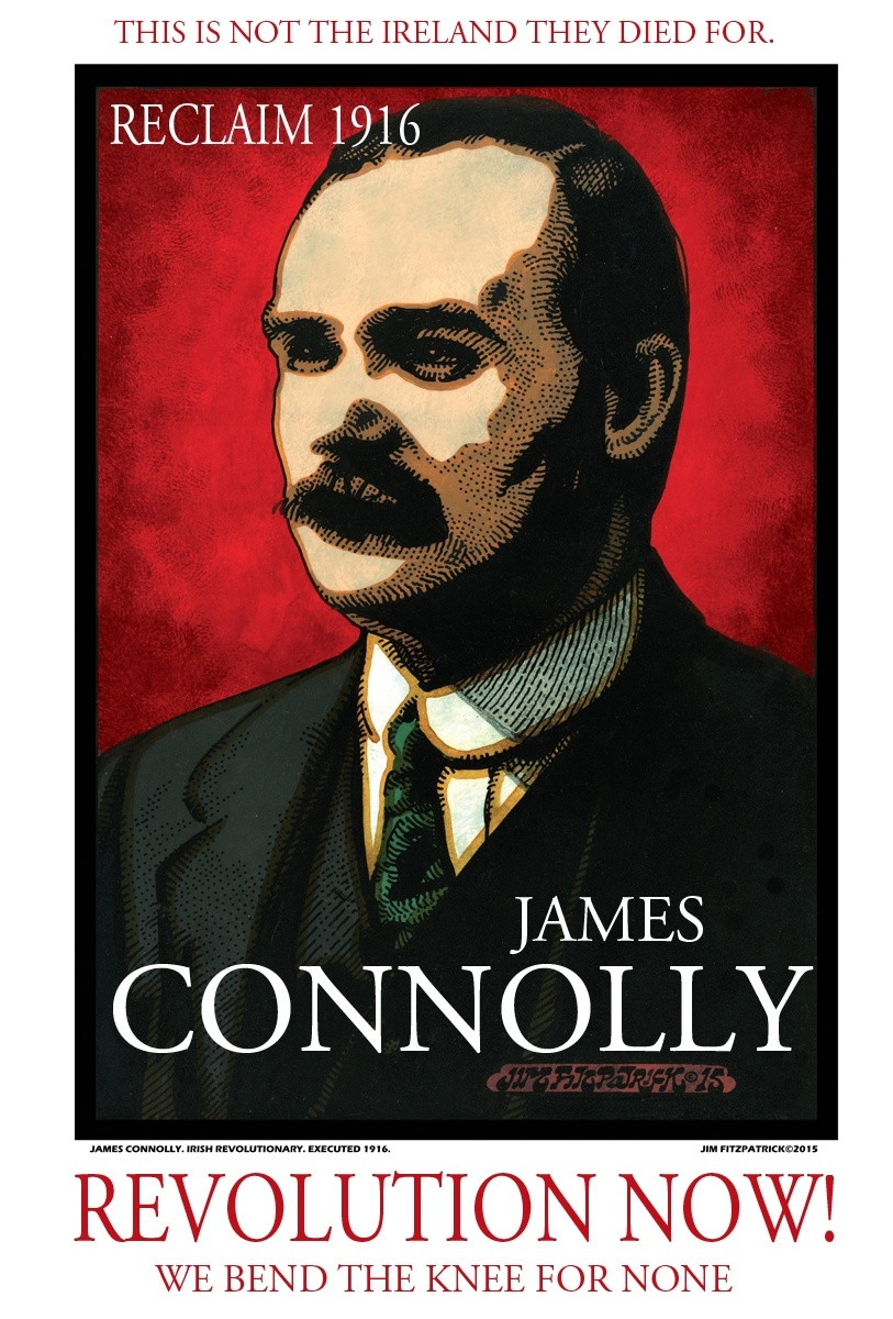 CONNOLLY Poster Red low