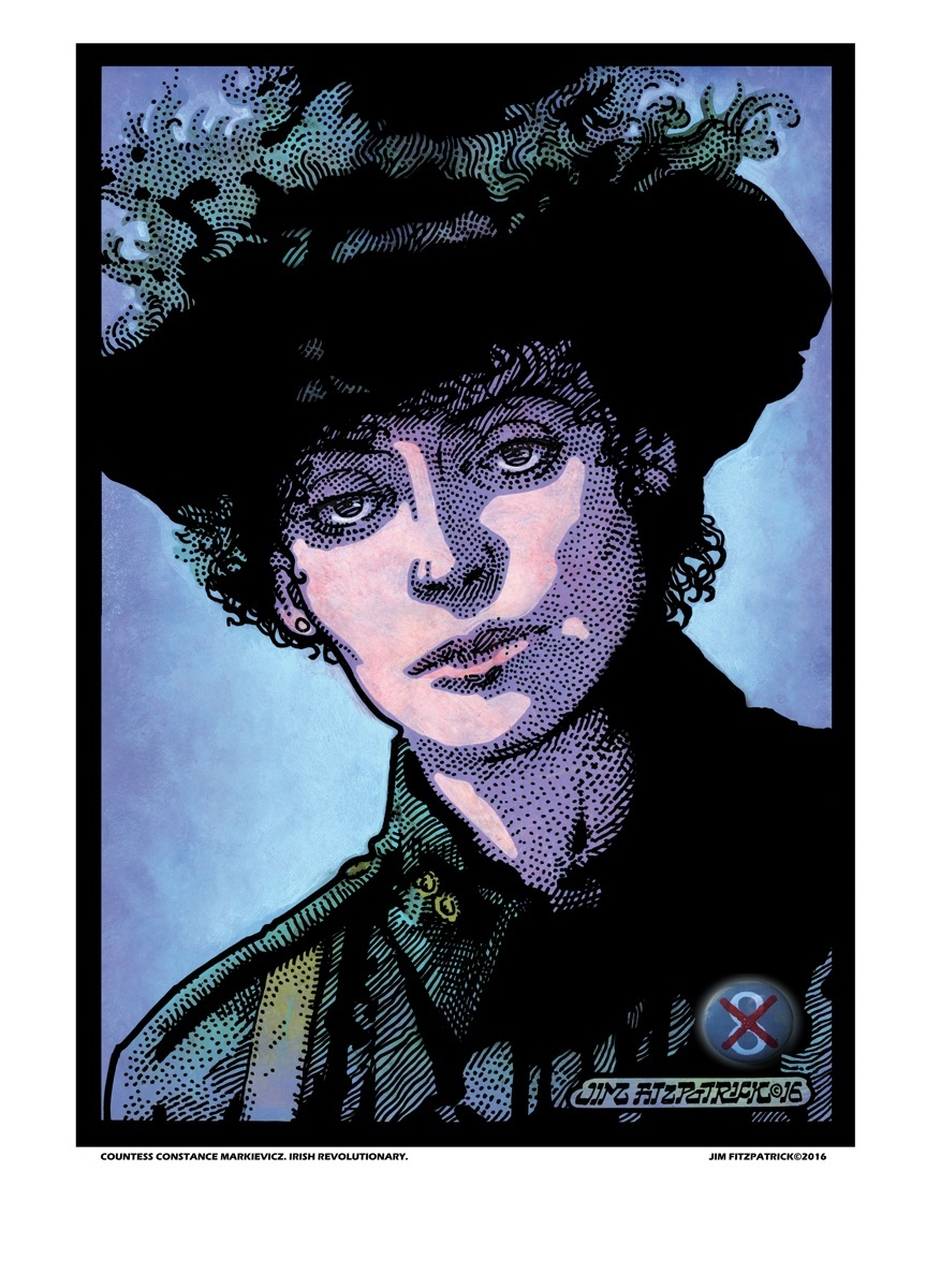COUNTESS MARKIEVICZ.A3.8thlow