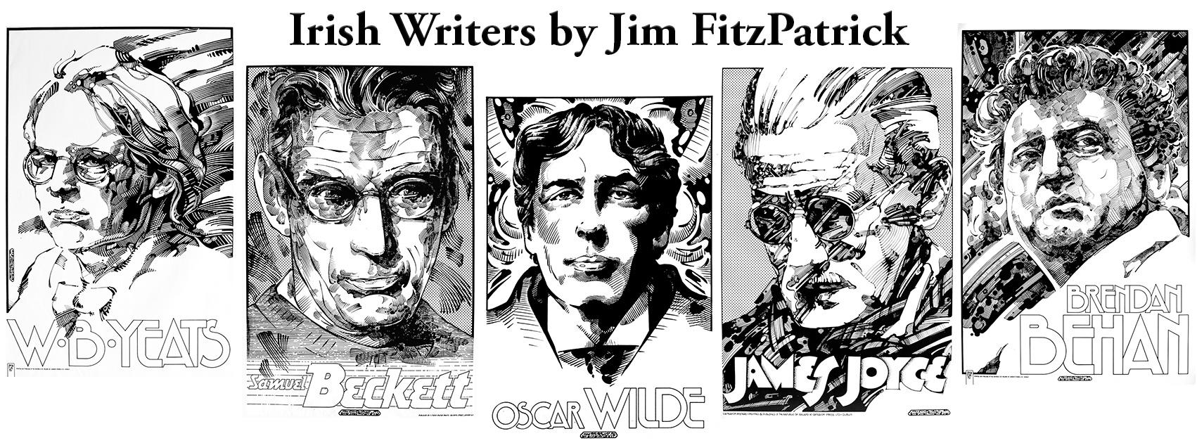 Irish writers byJF