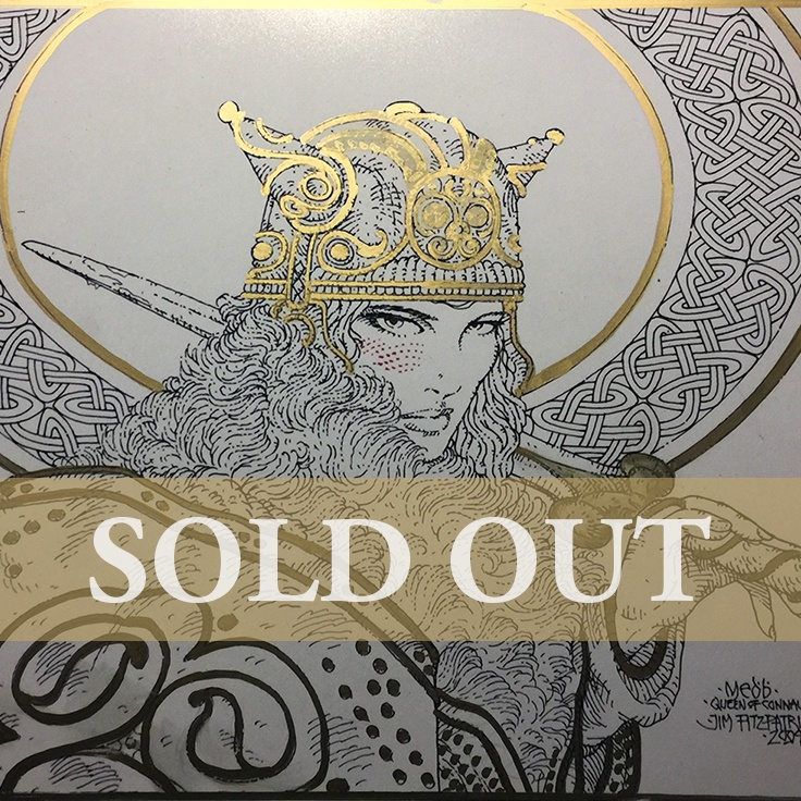 Queen Maeve GOLD 1 sq SOLD