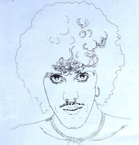 template.philip lynott portrait.1981