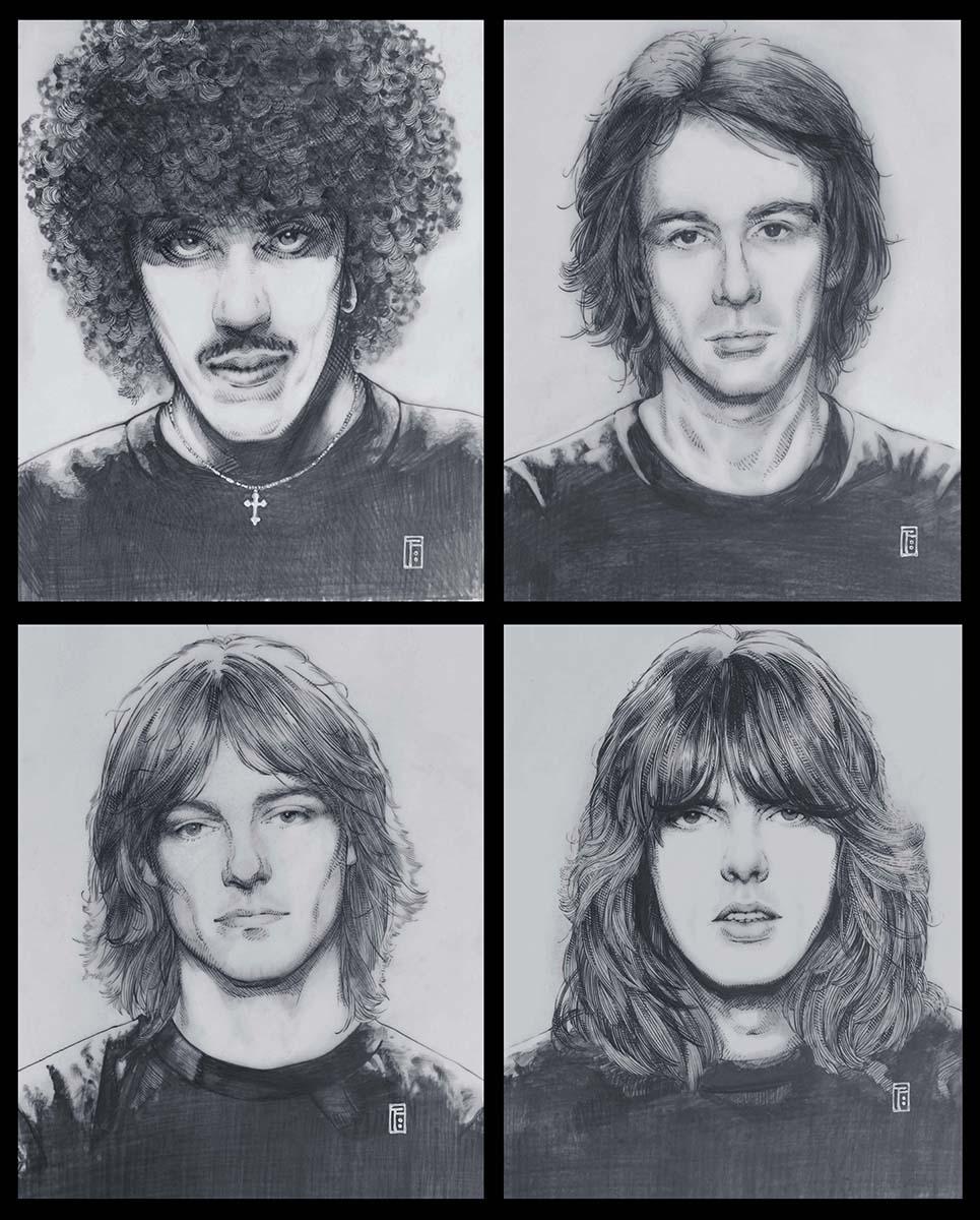 Thin Lizzy, Jim FitzPatrick, Philo, Lizzy, Thin Lizzy Albums, Thin Lizzy Album Covers, Thin Lizzy album artwork, Thin Lizzy band, thin lizzy art, thin lizzy artwork, thin lizzy artist
