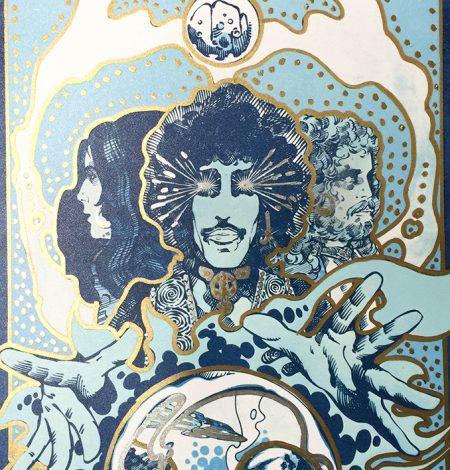 Vaga Poster Gold Detail 1