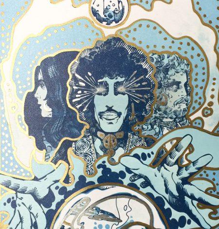 Vaga Poster Gold Detail 2