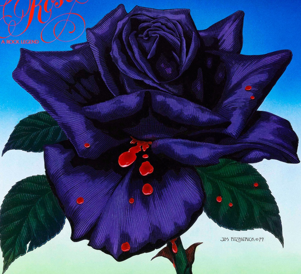 THIN LIZZY BLACKROSE Album artwork by Jim FitzPatrick from the Original Art.