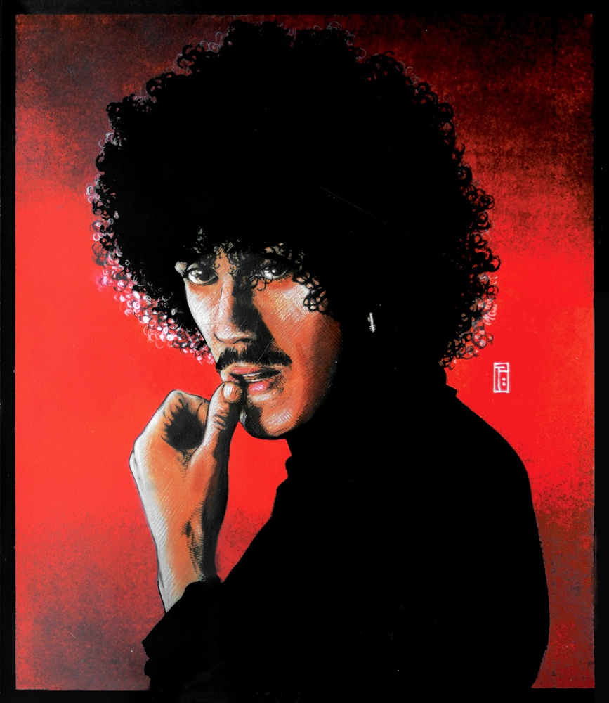 11.phillip lynott.portrait1981