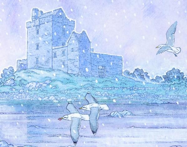 dun guaire castle detail 3