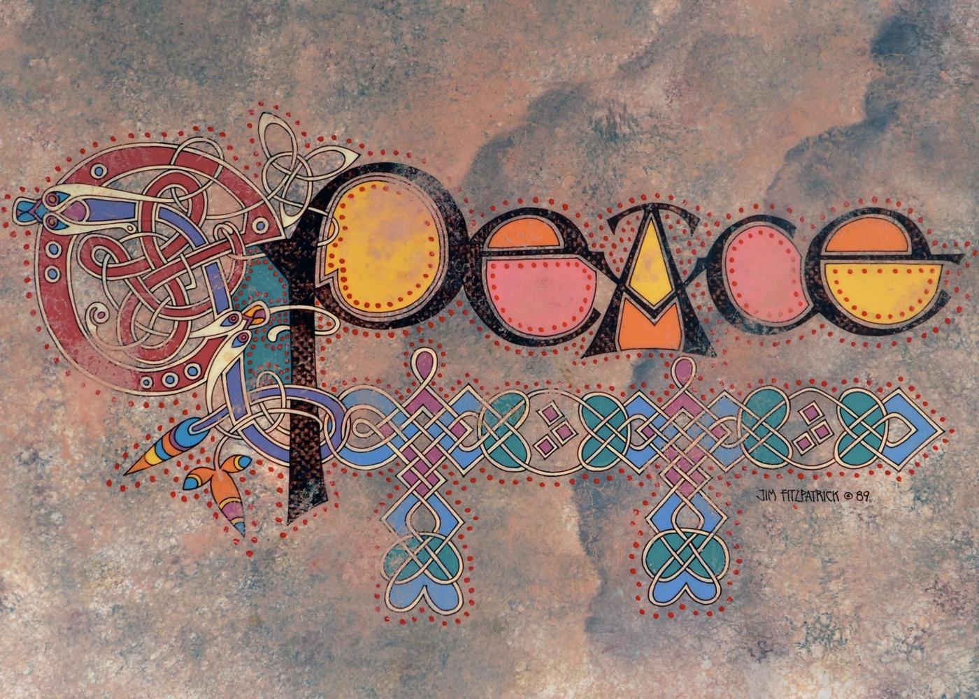 Peace Christmas Card | Jim FitzPatrick