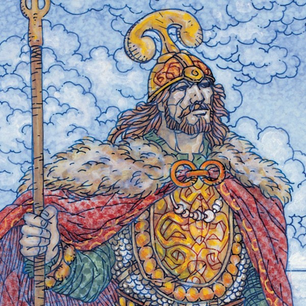 prince of donegal.1989. detail 3