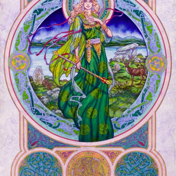 Prints, Irish, Ireland, Myth, IrishArt, CelticArt, Celtic, Mythology, Art, CelticMythology, JimFitzPatrick, theBookofConquests, Women, erotic, erotica, celtic gods, celtic goddesses,
