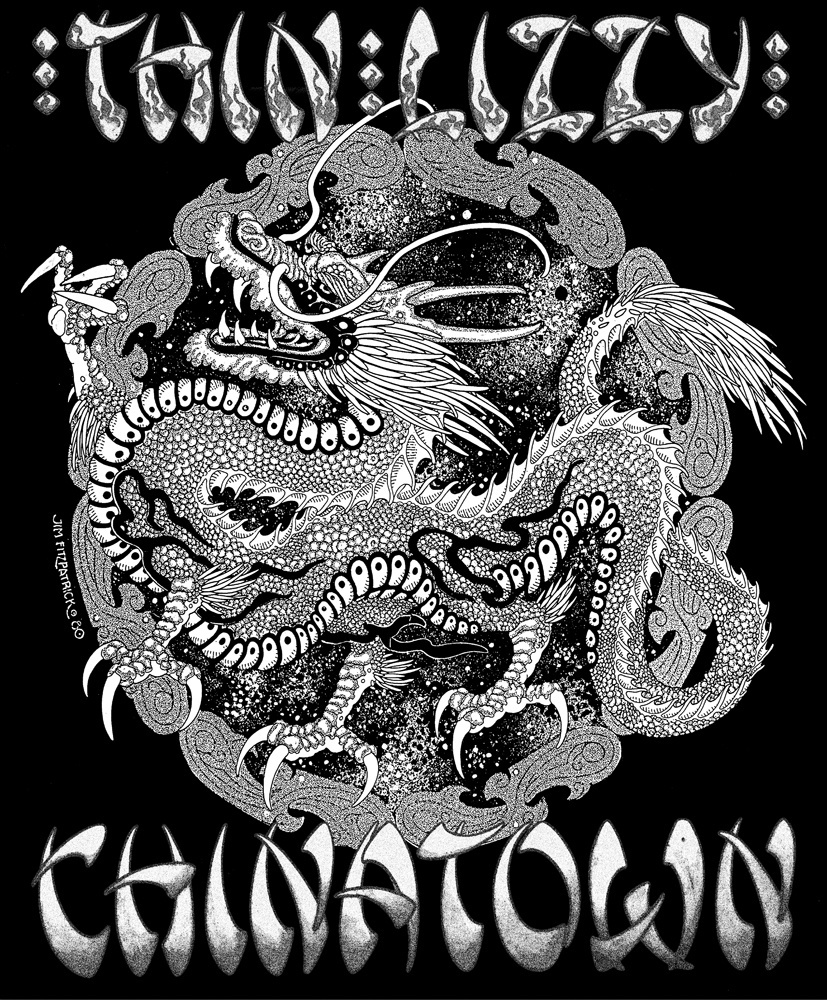 CHINATOWN.POSTER.Dragon A2 Detail 1