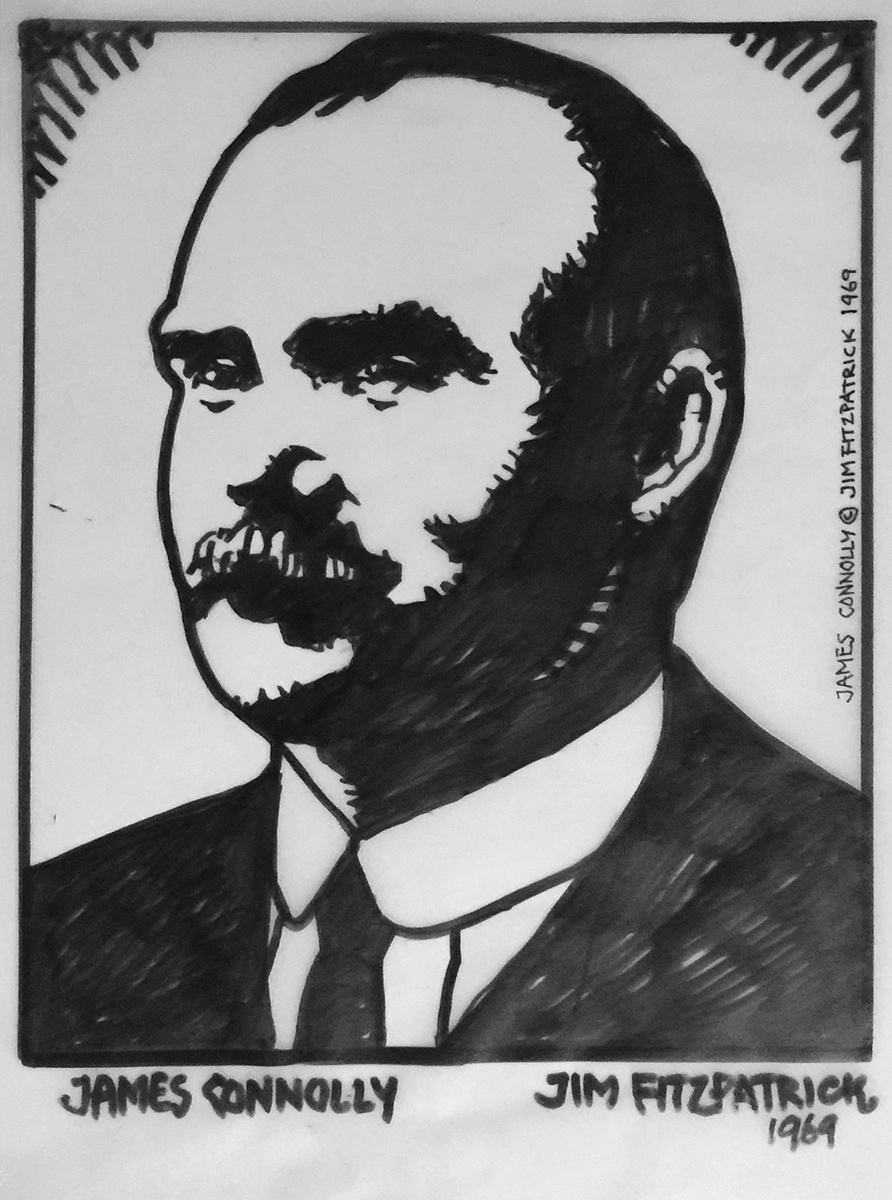 James Connolly, Irish Revolutionaries, Irish revolutionary, Jim FitzPatrick, Ireland, Easter 1916, Easter Rising, Irish.