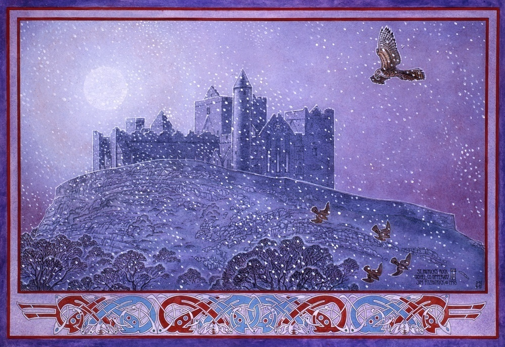 Irish, Ireland, Myth, Legend, Irish Myth, Irish Mythology, Celtic, Celtic art, Celtic Mythology, Jim FitzPatrick, Art, Irish Art, cashel, rock of cashel