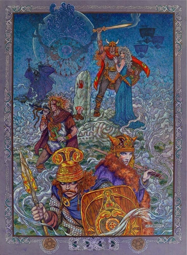 The Celtic Tarot Courtney Davis 9780850309201 Amazon: TWILIGHT OF THE GODS