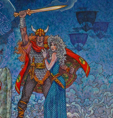 TWILIGHT OF THE GODS.A1 Detail 6