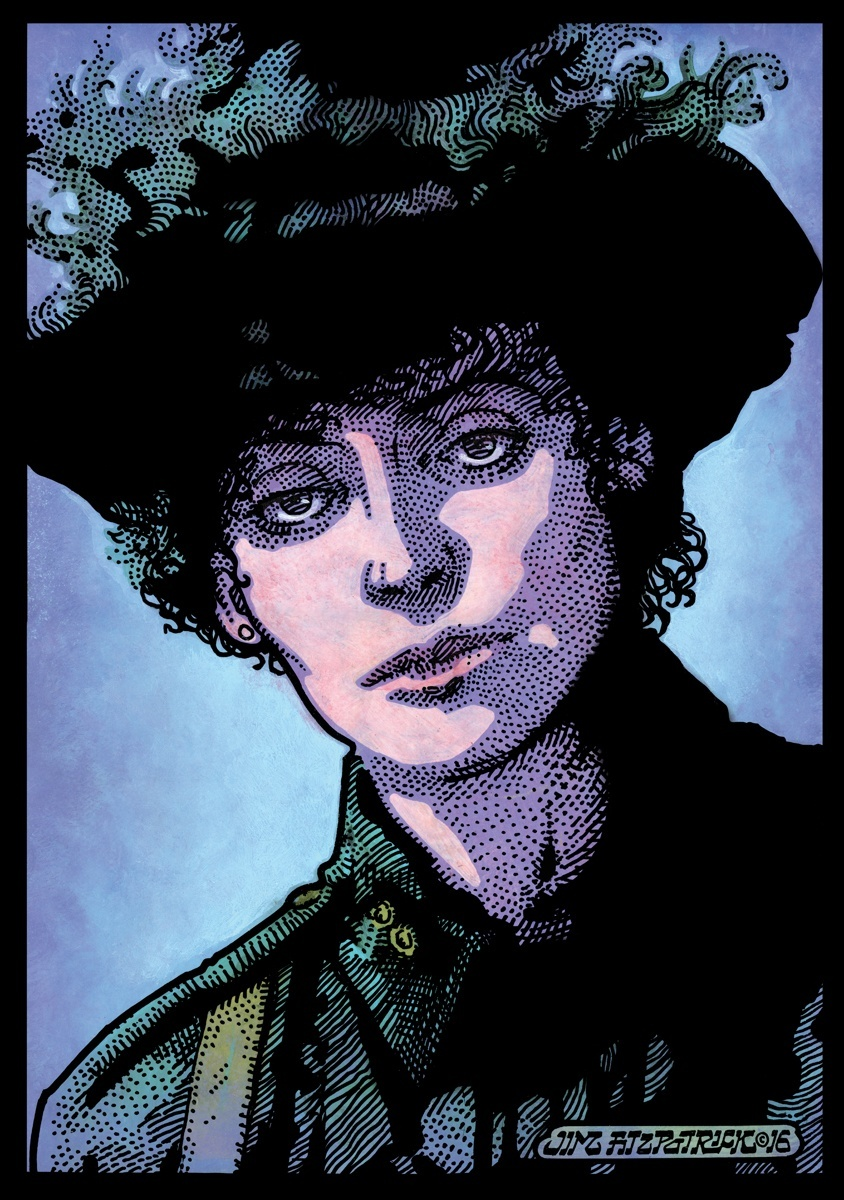 countess markievicz, markievicz, irish revolution, irish, ireland, irish revolutionaries, easter 1916, easter rising, jim fitzpatrick