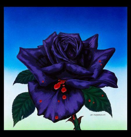 black-rose-screenscaver